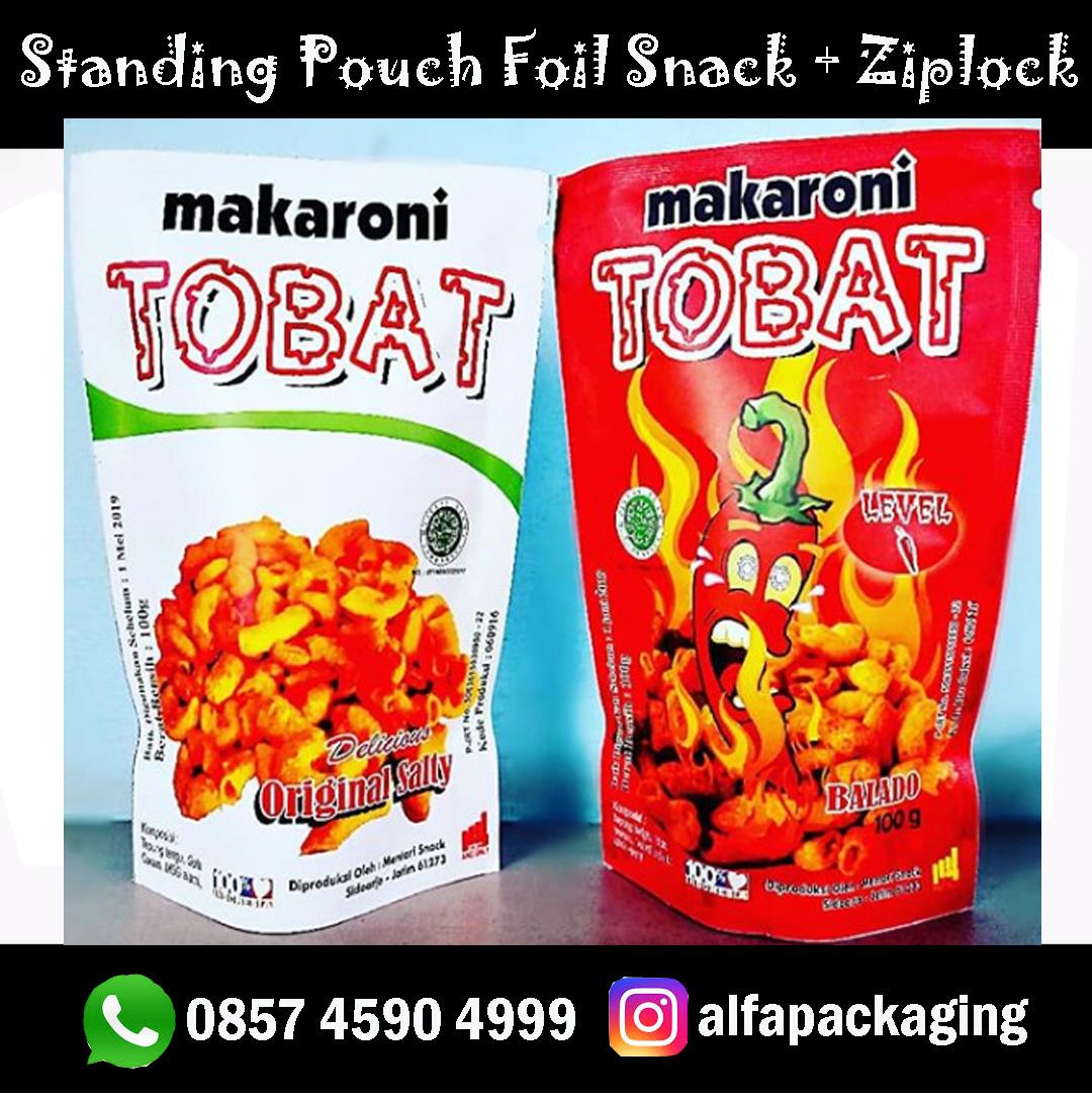 Standing Pouch Makaroni Foil + Ziplock